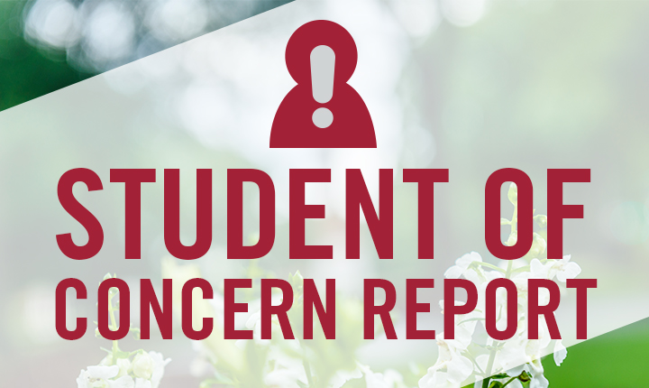 Report Student of Concern